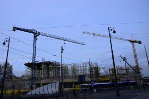 Budowa dworca PKP Bydgoszcz